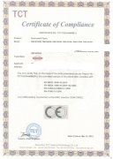 TCT Certificate of Compliance